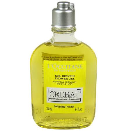 L'OCCITANE歐舒丹 枸櫞雙效沐浴膠(250ml) 專櫃正品