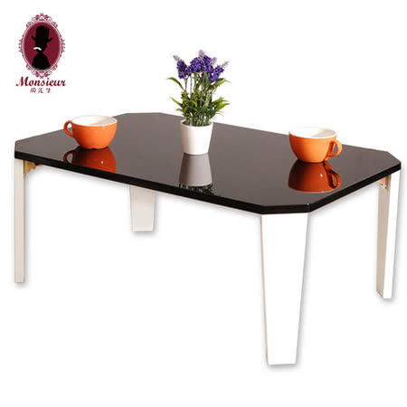 Mijas米哈斯折疊咖啡桌-黑