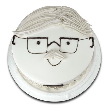 【台灣鑫鮮】幸福爹地臉譜蛋糕7吋