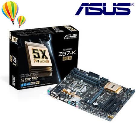 ASUS 華碩 Z97-K/USB3.1  主機板/1150腳位