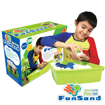 Fun Sand樂玩動力沙模具DIY組-福利品