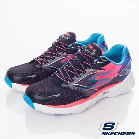 SKECHERS (女) 跑步系列 Gorun Ride4 - 13998BKCL