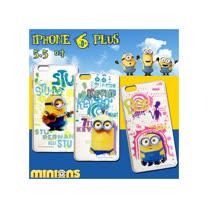 黃色小小兵Minions 正版授權 IPHONE 6 plus 5.5吋 透明軟式保護套 手機殼(人物篇)