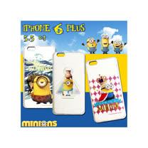 黃色小小兵 正版授權 IPHONE 6 PLUS 5.5吋 透明軟式保護套 手機殼(情境篇)