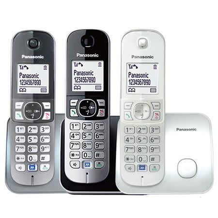 【國際牌Panasonic】中文顯示數位電話機(黑) KX-TG6811 公司貨