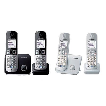 《贈馬克杯》【國際牌Panasonic】DECT數位無線電話 KX-TG6812TW 公司貨