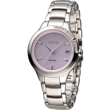 星辰 CITIZEN L系列 甜美柔和光動能時尚錶 EO1150-59W