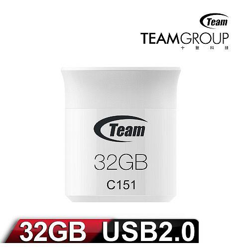 Team 十銓科技 C151 32GB 繽紛輕巧碟