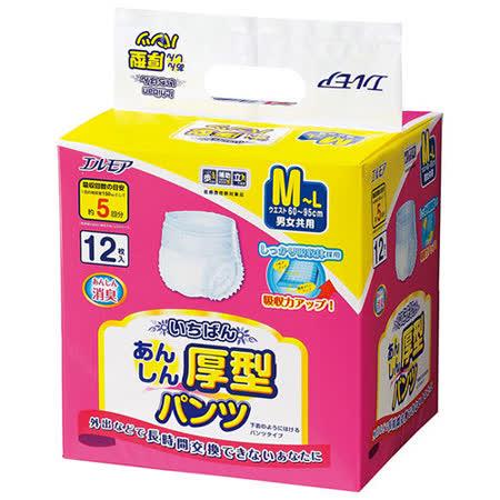 【日本一番】成人復健褲 M~L號 (12片*8包/箱,共96片)