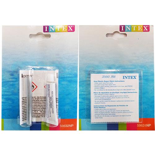 INTEX 充氣泳具.充氣玩具 游泳池修補貼^(1盒^) 修補膠^(1盒^)