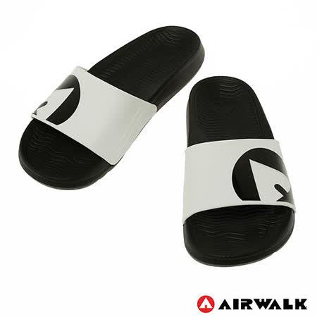 AIRWALK(男) - 輕盈舒適中性EVA休閒多功能室內外拖鞋 - 白