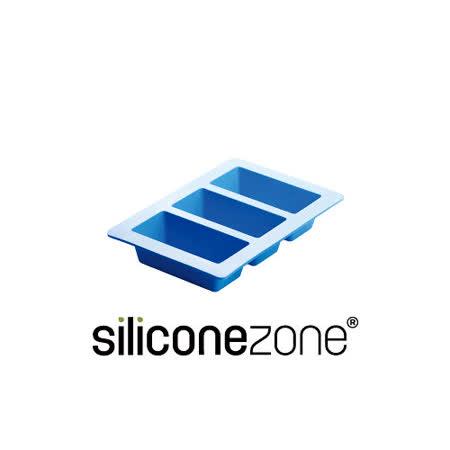 【Siliconezone】施理康耐熱矽膠3格條型蛋糕模