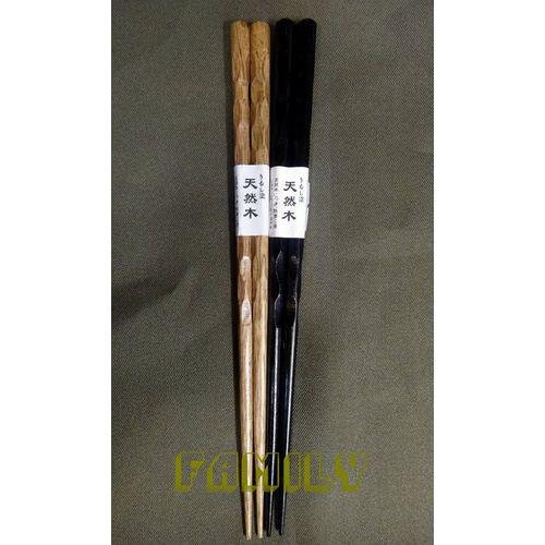日式居家 自然木 木質餐具 ~ 木筷 ~ 單雙 木色