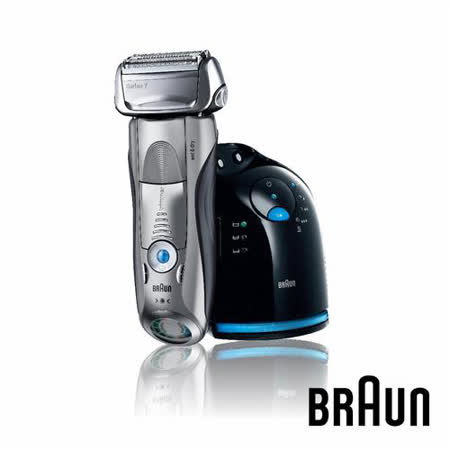 德國百靈BRAUN-7系列智能音波極淨電鬍刀790cc(送歐樂B-3D行家進階款電動牙刷P2000+領帶)