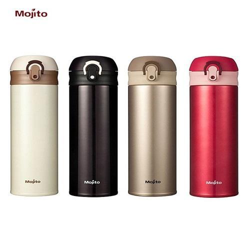 Mojito 超輕量^#304不鏽鋼真空彈蓋隨手保溫杯 350ml