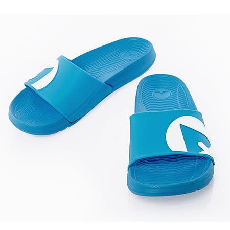 美國AIRWALK(男) - 輕盈舒適中性EVA休閒多功能室內外拖鞋 - 淺藍