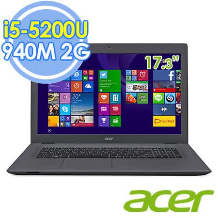 Acer E5-772G-54PL 17.3吋 i5-5200U 雙核 2G獨顯 FHD筆電