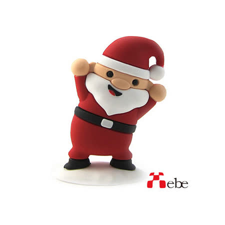 Xebe集比 聖誕老公公造型USB隨身碟 8GB / USB2.0