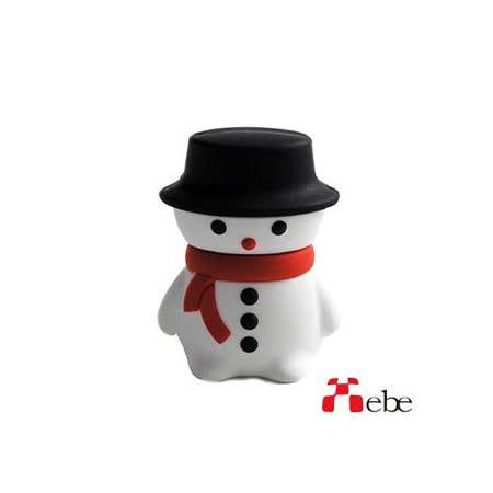 Xebe集比 雪人造型USB隨身碟 8GB / USB2.0