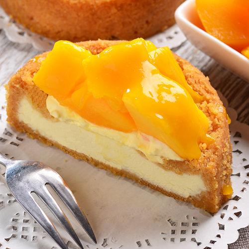 限定~艾波索~仲夏黃金芒果乳酪4吋~一年一次盛產的芒果! 無限乳酪!酸甜的口感征服整個夏天