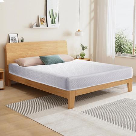 【AGNES 艾格妮絲】高碳鋼輕鬆睡彈簧雙人加大床墊(雙人6尺)