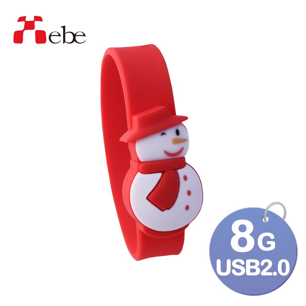Xebe集比 雪人隨身碟 8GB / USB2.0