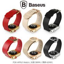 BASEUS 倍思 Apple Watch (38mm) 名仕真皮錶帶