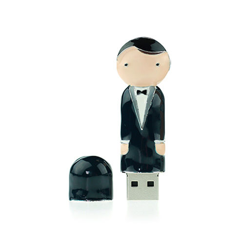 Xebe集比 帥氣新郎隨身碟8GB, USB 2.0