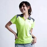 【遊遍天下】女款抗UV吸濕排汗顯瘦機能POLO衫GS014綠