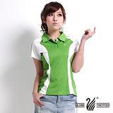 【遊遍天下】女款休閒抗UV吸濕排汗機能POLO衫MS019綠
