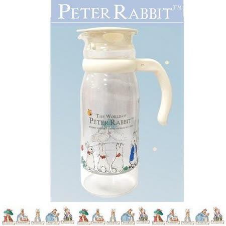 PETER RABBIT 比得兔兄妹 耐熱玻璃壺 1200ML-MGS085