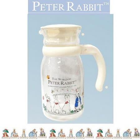 PETER RABBIT 比得兔兄妹 耐熱玻璃壺 800ML-MGS086
