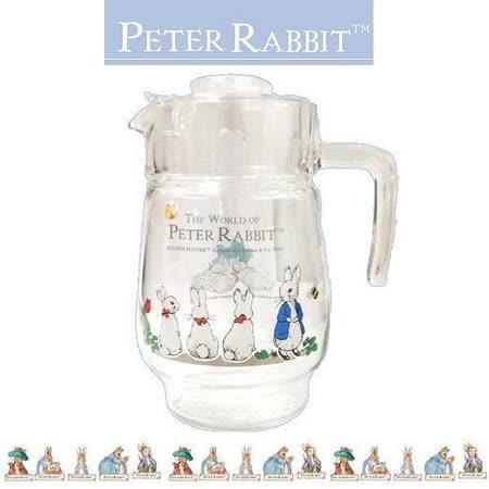 PETER RABBIT 比得兔兄妹 法國玻璃壺 1600ML-MGS087