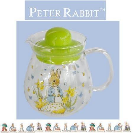 PETER RABBIT 比得兔兄妹 玻璃花茶壺 960ML-MGS0921