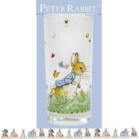 PETER RABBIT 比得兔兄妹 玻璃直水杯 420ML-MGS0928A