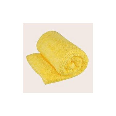 Bonne Nuit雪柔綿寶寶浴巾/枕巾 (90x50cm) 嫩黃色