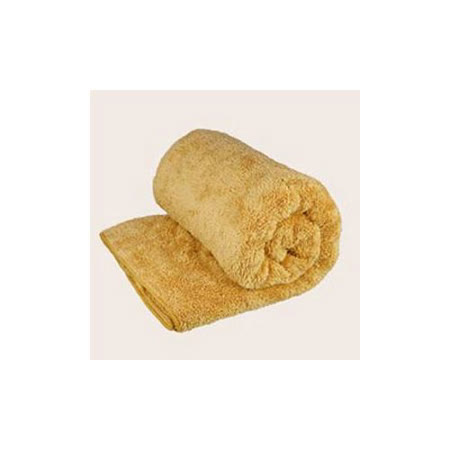 Bonne Nuit雪柔綿寶寶浴巾/枕巾 (90x50cm) 咖啡色