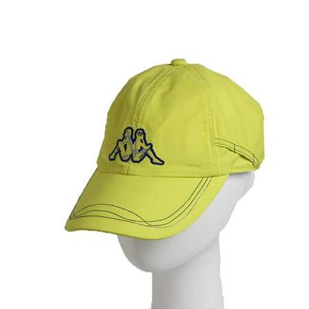 KAPPA義大利休閒慢跑運動帽1個~岩草綠