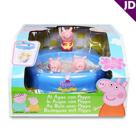【粉紅豬小妹】快樂洗澡遊戲組 PE36011
