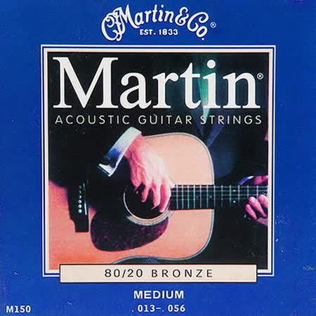 【美佳音樂】Martin M150 民謠吉他套弦(13-56)