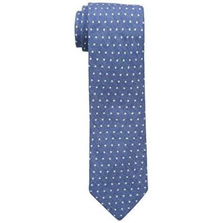 【Tommy Hilfiger】2015男時尚牛仔星點藍色領帶【預購】