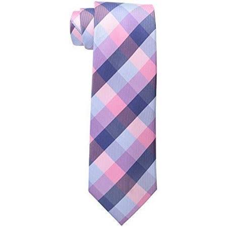 【Tommy Hilfiger】2015男時尚粉紫寶藍斜格紋領帶【預購】