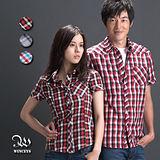 WINCEYS 短袖格子衫-男版