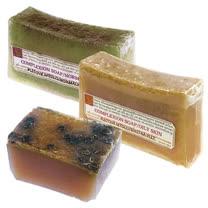 《菠丹妮》檸檬手工皂150g+橄欖萵苣手工皂150g+蜂蜜手工皂80g