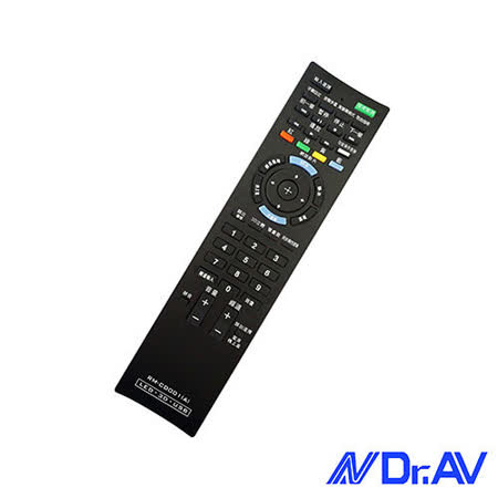 【Dr.AV】RM-CD001新力液晶電視專用遙控器