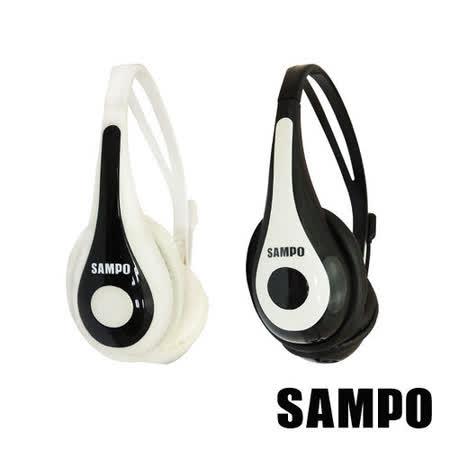 SAMPO聲寶 頭戴式電腦耳機麥克風(顏色隨機)EK-YF52CH