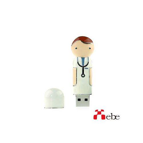 Xebe集比 醫生造型隨身碟 8GB / USB2.0