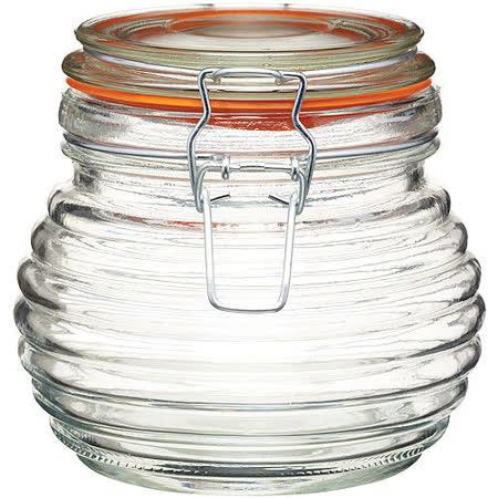 《KitchenCraft》扣式蜂蜜密封罐(650ml)