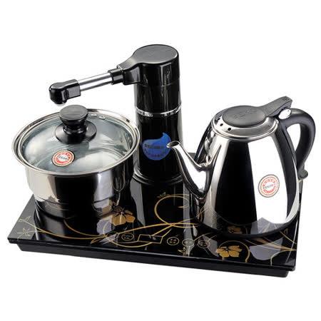 【台熱牌】光觸控數位面板自動補水電茶壺泡茶組T-6369