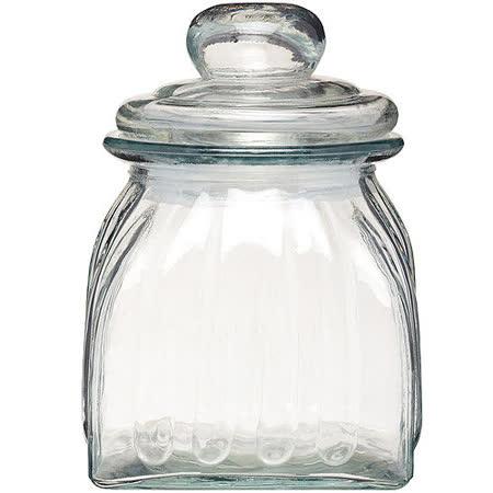 《KitchenCraft》復古玻璃密封罐(670ml)